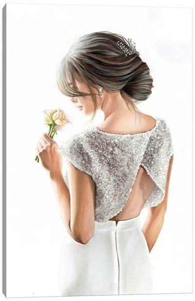 Bride Canvas Art Print