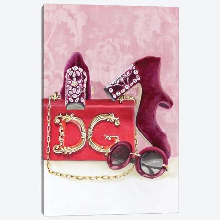 Dolce & Gabbana 3-Piece Canvas #SVT8} by Svetlana Balta Art Print