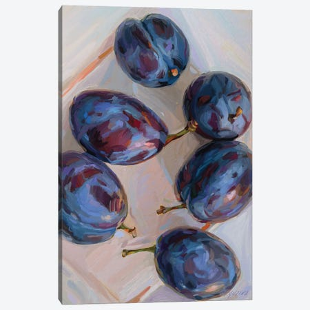 Plums Canvas Print #SVZ21} by Svetlana Zyuzina Canvas Artwork