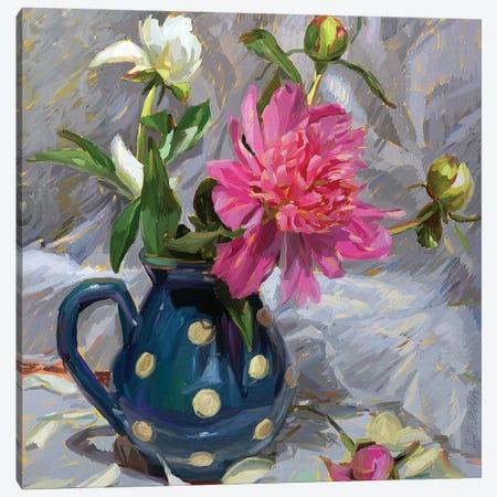 Peonies Canvas Print #SVZ23} by Svetlana Zyuzina Canvas Art