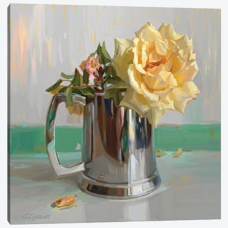 Garden Rose Canvas Print #SVZ30} by Svetlana Zyuzina Canvas Art Print