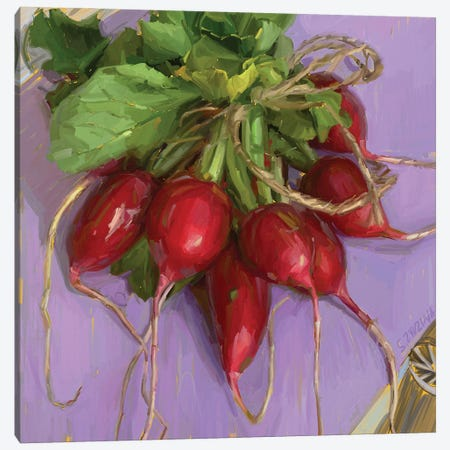 Fresh Market Produce Canvas Print #SVZ32} by Svetlana Zyuzina Art Print