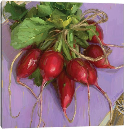 Fresh Market Produce Canvas Art Print