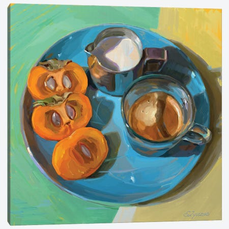 Espresso Canvas Print #SVZ33} by Svetlana Zyuzina Canvas Art Print