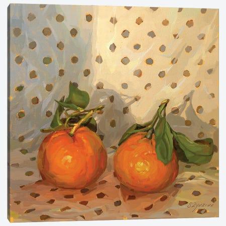 Clementines Canvas Print #SVZ35} by Svetlana Zyuzina Canvas Wall Art