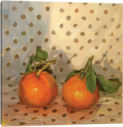 Clementines Canvas Art Print