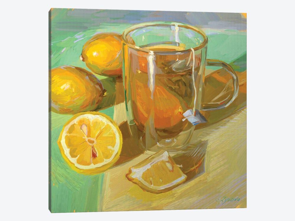 Green Tea by Svetlana Zyuzina 1-piece Canvas Wall Art