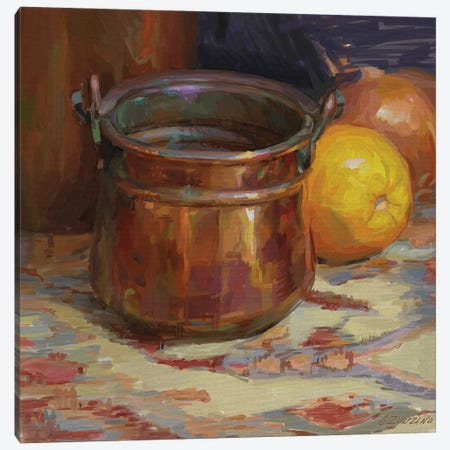 Copper Canvas Print #SVZ37} by Svetlana Zyuzina Canvas Artwork