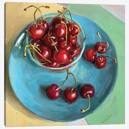 Cherry Season Canvas Print #SVZ38} by Svetlana Zyuzina Art Print