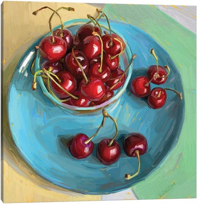 Cherry Season Canvas Art Print