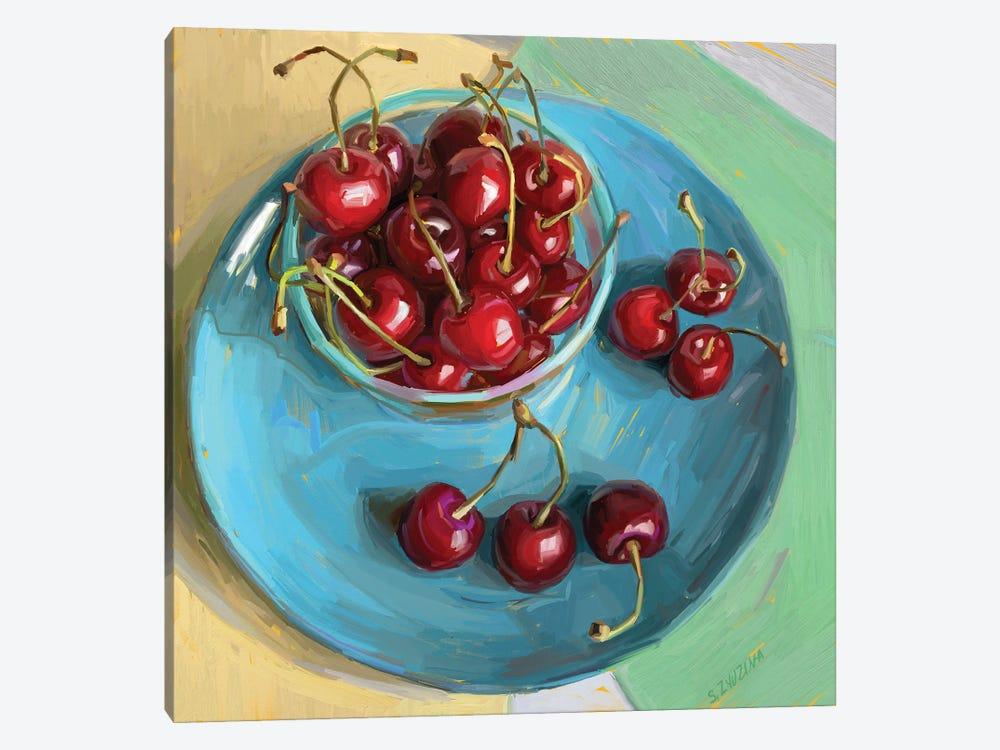 Cherry Season by Svetlana Zyuzina 1-piece Canvas Artwork