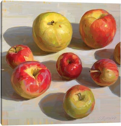 100 Shades of Autumn Canvas Art Print