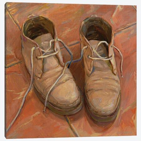 Boots With The History Canvas Print #SVZ41} by Svetlana Zyuzina Canvas Art