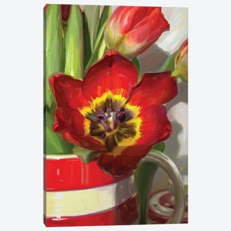 Red Tulip From Amsterdam Canvas Print #SVZ45} by Svetlana Zyuzina Canvas Art Print
