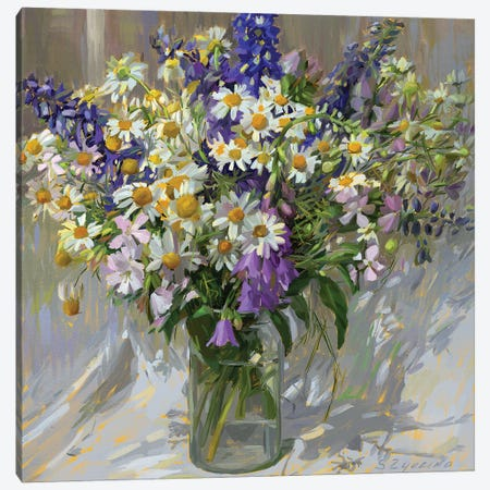 Garden bouquet Canvas Print #SVZ4} by Svetlana Zyuzina Canvas Artwork