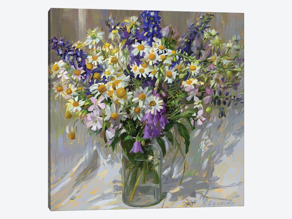 Garden bouquet by Svetlana Zyuzina 1-piece Canvas Art