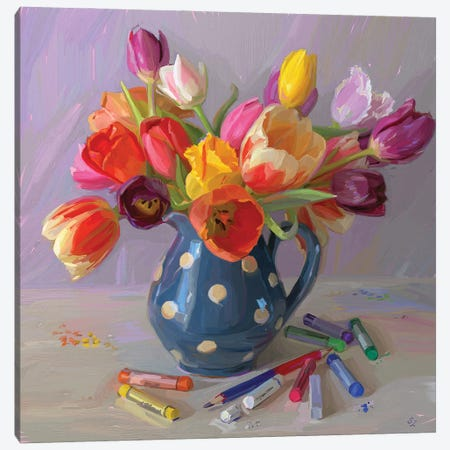 Spring Jazz Canvas Print #SVZ53} by Svetlana Zyuzina Canvas Art Print