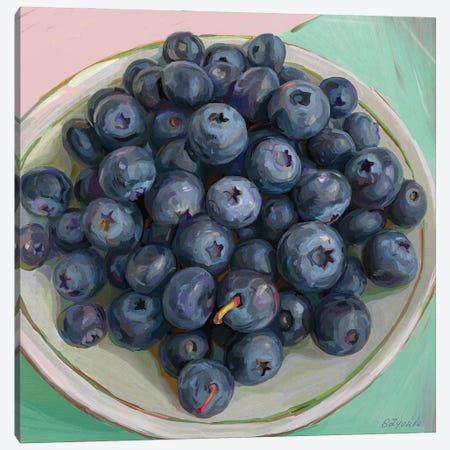 Blueberry Crush Canvas Print #SVZ54} by Svetlana Zyuzina Canvas Artwork