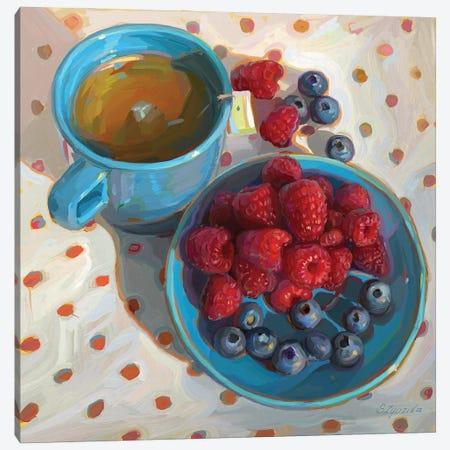 Morning Tea Canvas Print #SVZ55} by Svetlana Zyuzina Canvas Wall Art