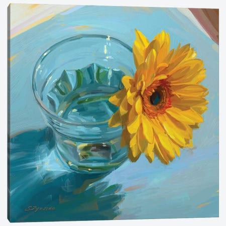 Sunshine In A Glass Canvas Print #SVZ59} by Svetlana Zyuzina Art Print
