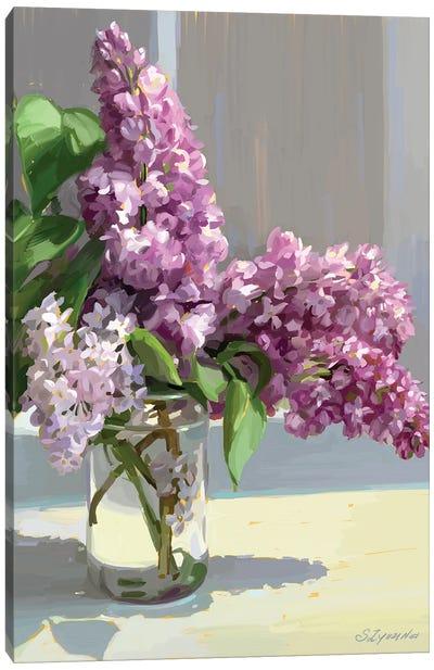 Sochi Lilac Canvas Art Print