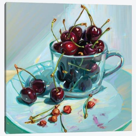 Cherry Deliciousness Canvas Print #SVZ64} by Svetlana Zyuzina Canvas Art Print