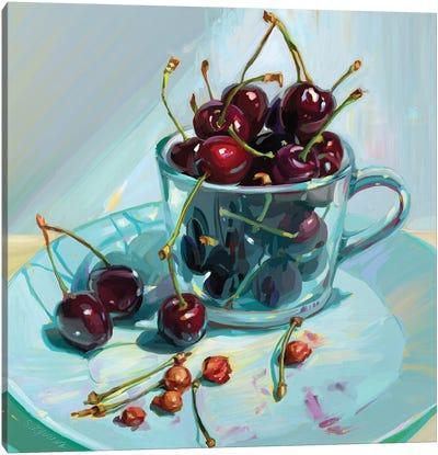 Cherry Deliciousness Canvas Art Print
