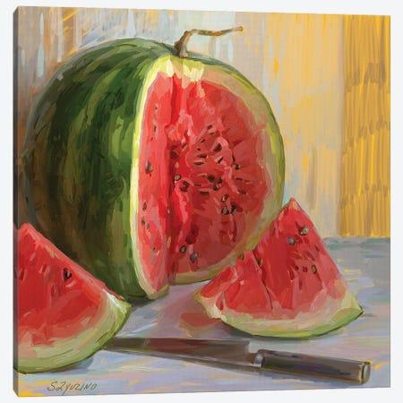 Watermelon. 5am Canvas Print #SVZ8} by Svetlana Zyuzina Canvas Print