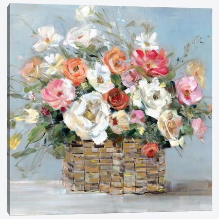 Flower Market Fresh Canvas Print #SWA100} by Sally Swatland Canvas Wall Art