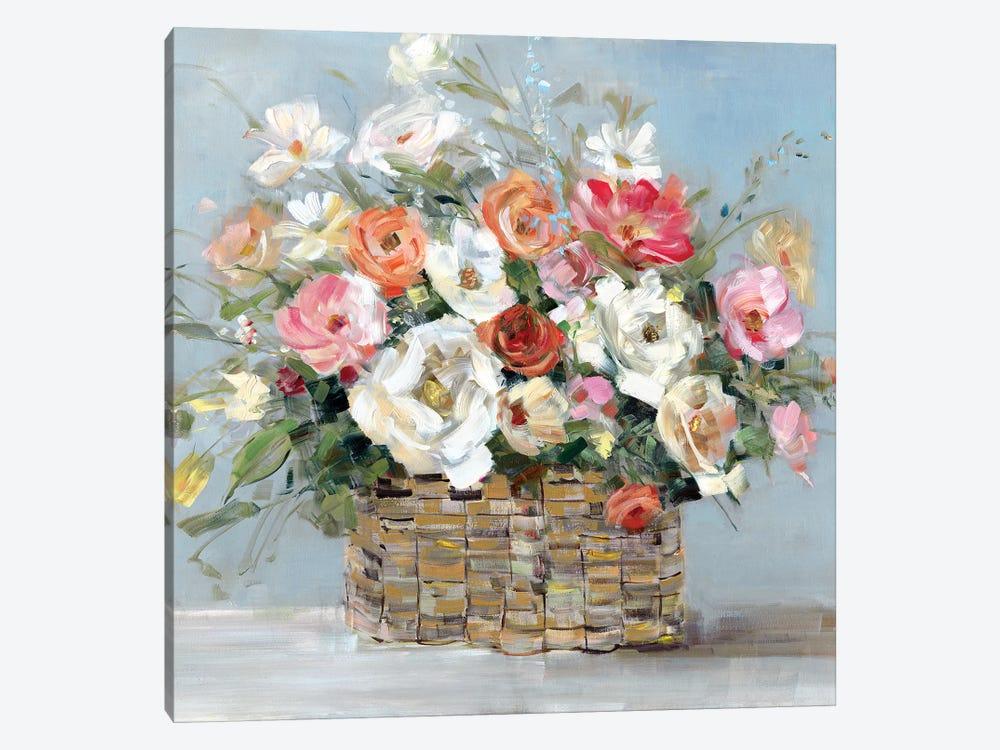 Flower Market Fresh by Sally Swatland 1-piece Canvas Artwork