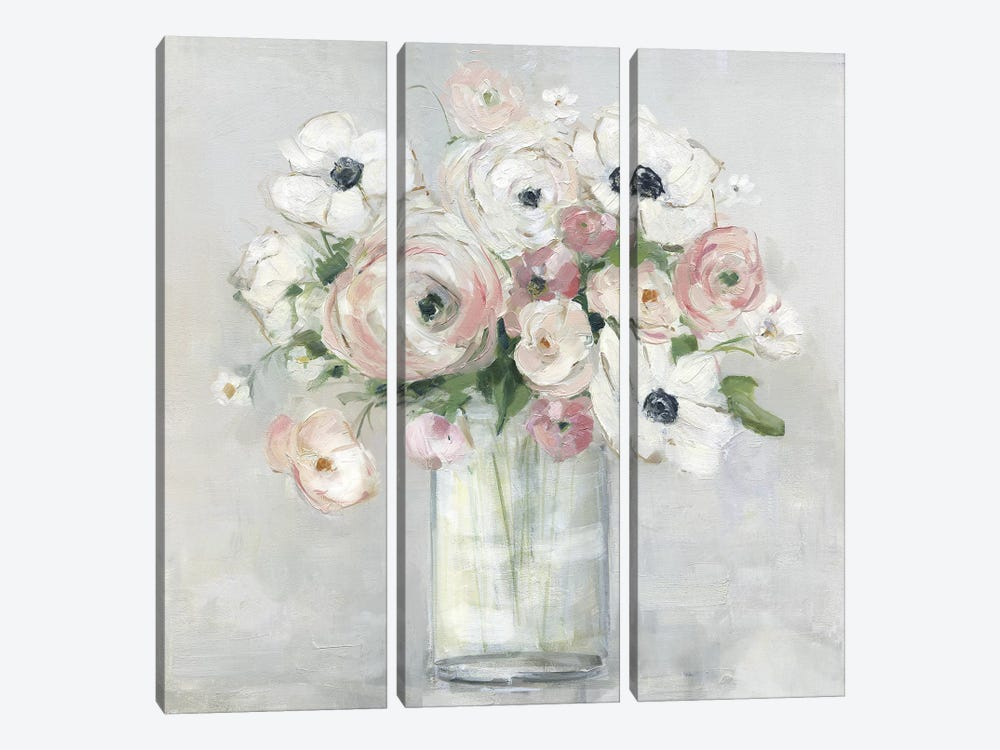 Garden to Table II by Sally Swatland 3-piece Canvas Artwork