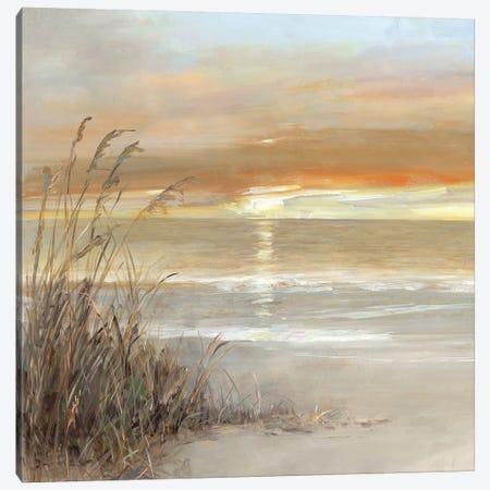 Malibu Sunset Canvas Print #SWA104} by Sally Swatland Canvas Print