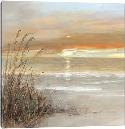 Malibu Sunset Canvas Art Print