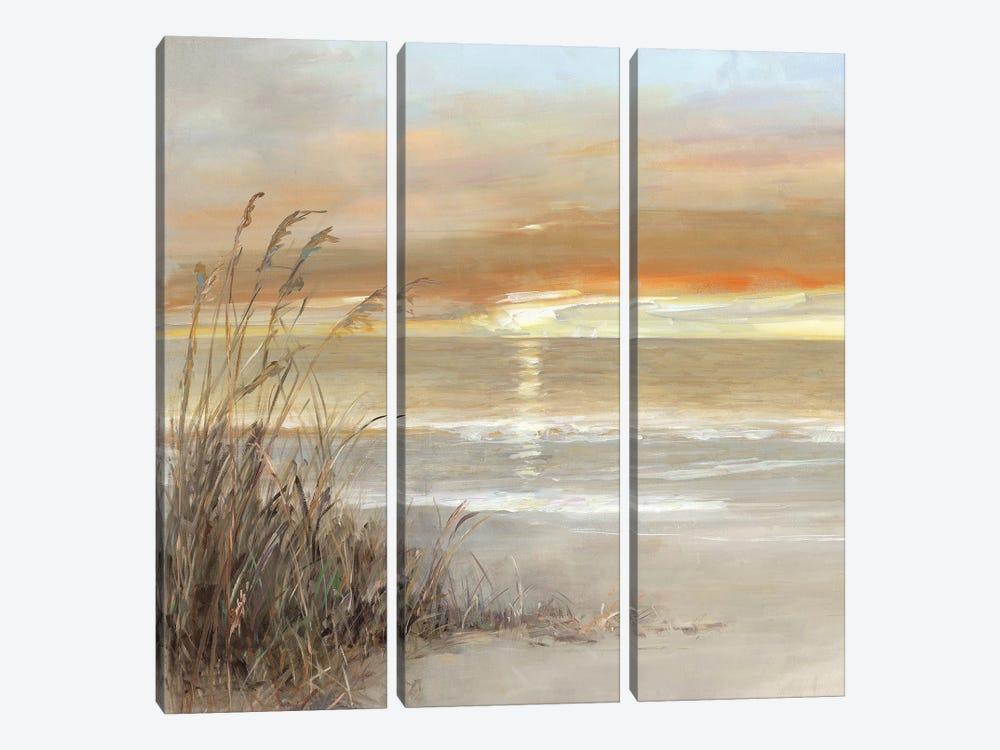 Malibu Sunset by Sally Swatland 3-piece Canvas Artwork
