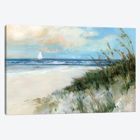 Oak Island Sunrise Canvas Print #SWA105} by Sally Swatland Canvas Art Print