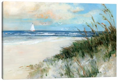 Oak Island Sunrise Canvas Art Print