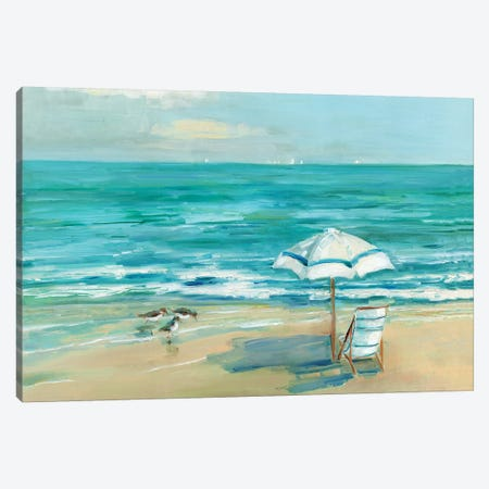 Simply Summer Canvas Print #SWA107} by Sally Swatland Canvas Art Print