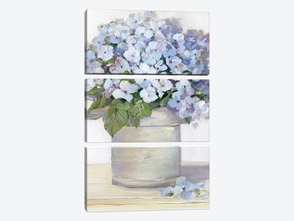 Lovely Lavender I by Sally Swatland 3-piece Canvas Artwork