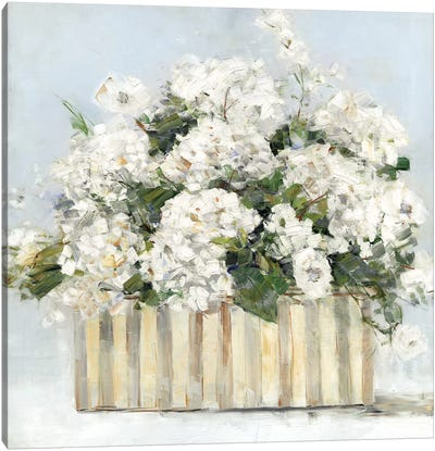 Sweet Hydrangeas Canvas Art Print