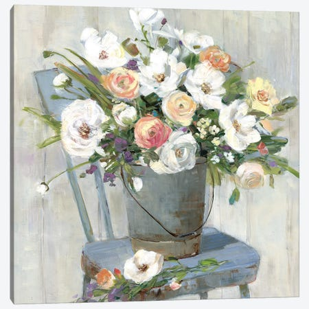 Sweet Pickins Canvas Print #SWA117} by Sally Swatland Canvas Wall Art