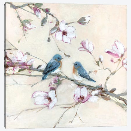 Sweet Sounds of Summer I Canvas Print #SWA118} by Sally Swatland Canvas Print