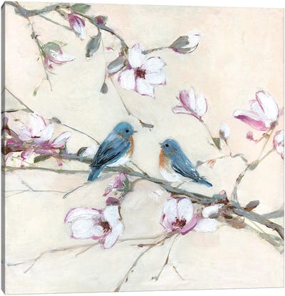 Sweet Sounds of Summer I Canvas Art Print