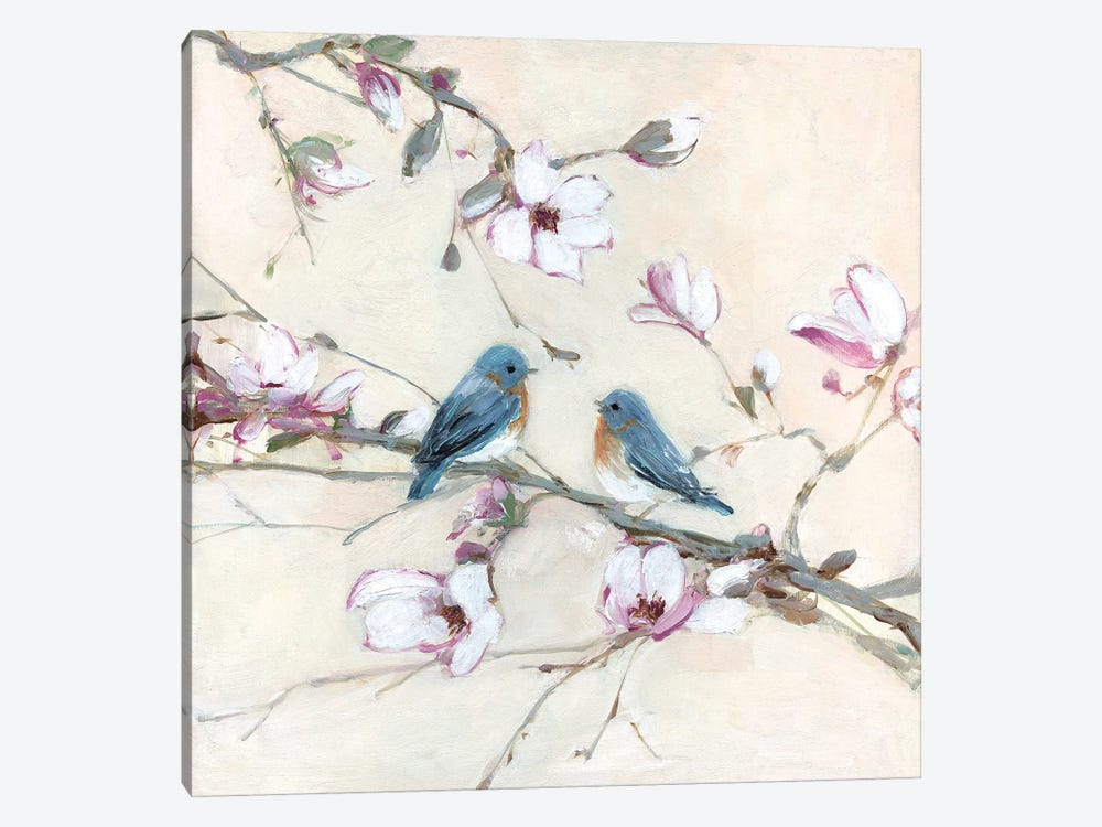 Sweet Sounds of Summer I by Sally Swatland 1-piece Canvas Art Print