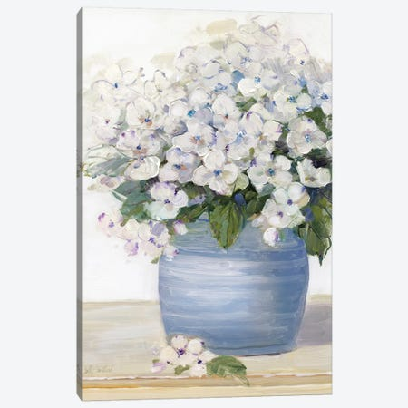 Lovely Lavender II Canvas Print #SWA11} by Sally Swatland Art Print