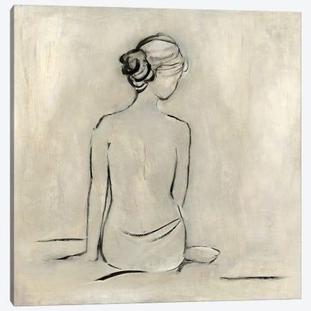 Bather I Canvas Print #SWA121} by Sally Swatland Canvas Art