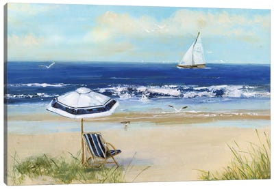 Beach Life I Canvas Art Print