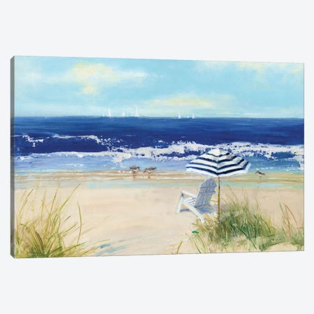 Beach Life II Canvas Print #SWA126} by Sally Swatland Canvas Print