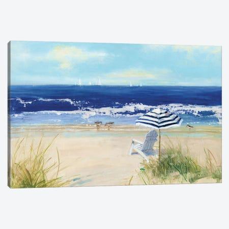 Beach Life II Canvas Print #SWA126} by Sally Swatland Canvas Print