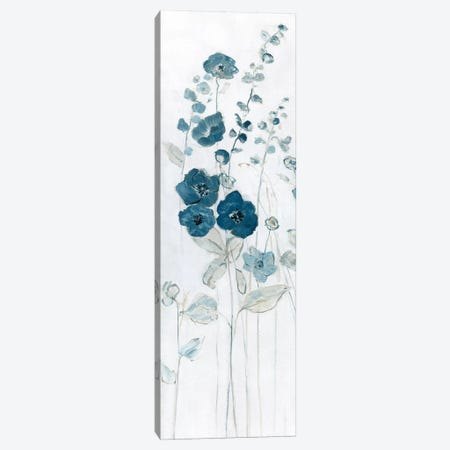 Fields of Blue I Canvas Print #SWA137} by Sally Swatland Canvas Wall Art