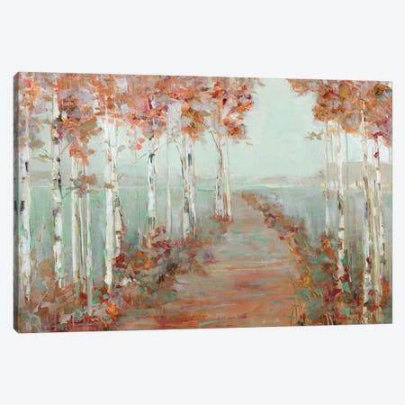 Isle Causeway Canvas Print #SWA142} by Sally Swatland Canvas Wall Art